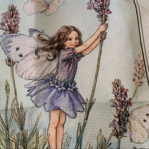 The Lavender Fairy Counted Cross Stitch 1997